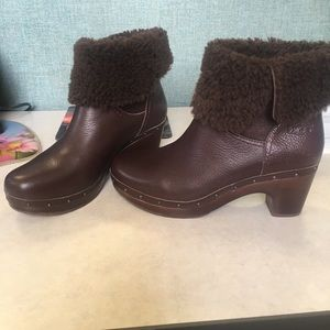 Women's Brown Ugg boots, Size 10
